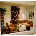 Interiör från lägenhet i ett nybyggt miljonprogramsområde från 1976. Foto: Peter Segemark, Nordiska museet