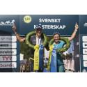 Åsa Lundström och Sebastian Norberg är Svenska Triathlonmästare i medeldistans