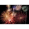Firework displays to light up the borough