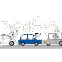 Sjåførers atferd skaper smitteeffekt i trafikken