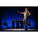 Dansare som utmanar flamencons själ