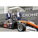GROHE sponsorerer nu Formel 3 kører