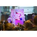 Cirkuskonster på Tärnsjö språkcafé och Heby After dagis