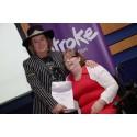 Leicester stroke survivor receives regional recognition