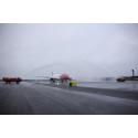 Norwegiasn first flight to Las Vegas