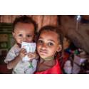Idag på Jemenkrigets årsdag, uppmärksammar Rädda Barnen konfliktens största offer