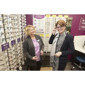 New St Stephen's Hull optical store officially opened by local MP Emma Hardy