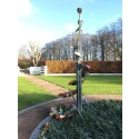 Skulptur monteras ned på grund av stöldrisk