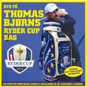 Thomas Bjørns Ryder Cup bag på auktion