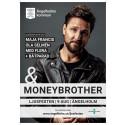 Affisch Ljusfesten 2019 med Moneybrother