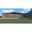 NCC bygger innebandyhall med 3 000 läktarplatser i Umeå