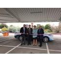 RES inaugure l'Ombripark, un projet d'ombrières photovoltaïques pour son siège social