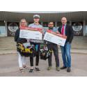 Två elever vid Hushagsgymnasiet belönade med Bygmastipendiet