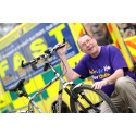 ​Former paramedic takes to his bike for stroke