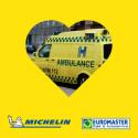Michelin og Euromaster tilbyder dæk og dækservice til ambulancer