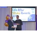 Teenage stroke survivor receives regional recognition