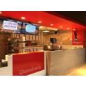 Domino's ger bort 3 380 pizzor under Sverige-premiären