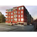 Slutsålt i HSBs bostadsprojekt på Västgötebacken i Norrköping