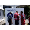 Chill out at the Cape Town Carnival with Bluewater, drinking water so cool it's as pure as nature intended