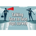Face-to-face trumps email for customer communications