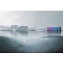 Arkitektur av havsplast - helhetsbild