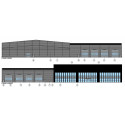 Se skisser på vår nya anläggning i Skurup