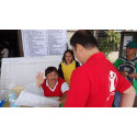 Disaster responders work through the holidays to help children and families