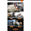 ALL-NEW KTM.COM ONLINE