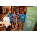 Members of Northumbria University's Creative Fuse North East project team