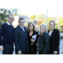 Walk and talk för ett bättre företagsklimat i Upplands Väsby