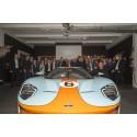 Leveransdags för Ford GT i Skandinavien