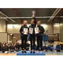 SM i hopprep: Kämpinge GF tog guld i både dam- och herrklassen genom Elin Söderlund och Felix Vigren