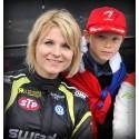 Ramona Karlsson kryddar het final i RallyX på Solvalla