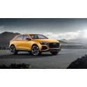Audi Q8 sport concept med mild-hybrid-teknologi