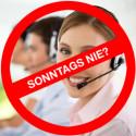 Sonntags ohne Call Center? Voice Self Service ist immer für die Kunden da: Sprachdialogsystem sorgt für perfekten Kundenservice - an jedem Tag  und rund um die Uhr
