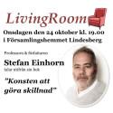 Stefan Einhorn gästar LivingRoom i Lindesberg