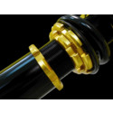 Yellow Coilover för Audi club Prestanda