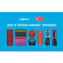 Logitech vinner åtta priser på iF DESIGN AWARDS 2016
