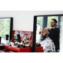 Neil Tomlinson (UK) domare i Swedish Barber Expo Barber Battle 2017