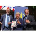 Landskapsmat och författarhyllningar på Frankrikes nationaldag