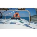 Hi-res image - ACR Electronics - Fisherman Simon Jones is towed to safety