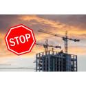 Tusentals nya bostäder stoppas