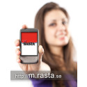 Om Rasta som flyttar ut i mobilen och lanserar mobil hemsida.