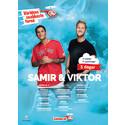 Samir och Viktor på blixtsnabb Sverigeturné - 11 spelningar i 11 städer på 3 dagar för ett världsrekordförsök