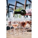Black Bottle Rosé på Winery Rooftop Terrace