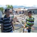 Tusentals barn drabbade i jordbävningskatastrofen