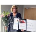 Pedagogiskt pris till Helena Löwdahl på Adolfsbergsskolan