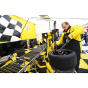 Dunlop provide the tyres , service and support at international racing events around the world, including the BTCC