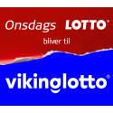 Vikinglotto erstatter Onsdags Lotto