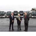 Nye turbusser til H.M. Kristiansens Automobilbyrå AS
